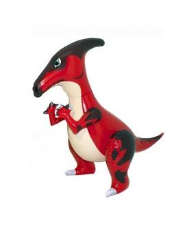 Gonfiabile Dinosauro Picchiatello Rosso