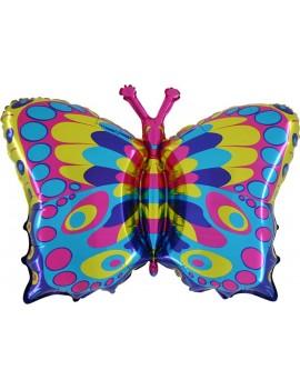 Palloncino Farfalla Multicolor