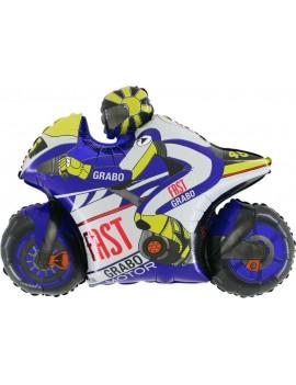 Palloncino Moto GP Blu