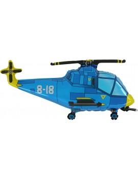 Palloncino Elicottero Blu