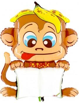 Palloncino Scimmietta B-Pad Scrivibile