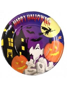 Piatti Ø 18 cm Happy Halloween (10 pz)