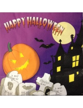 Tovaglioli 33x33 Happy Halloween (20 pz)