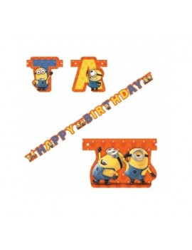 Festone Happy Birthday Minions
