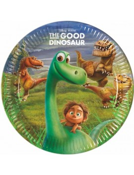 Piatti The Good Dinosaur da 23 cm (8 pz)