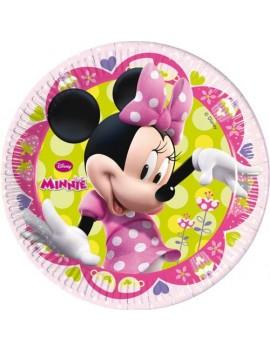 Piatti Minnie da 23 cm (8 pz)