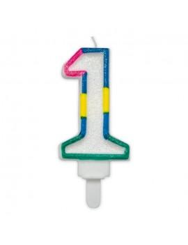 Candelina Maxi Numero 1 (Sweet)