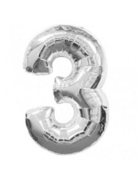 Palloncino Numero 3 (35 cm)