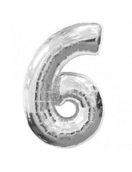 Palloncino Numero 6 (35 cm)