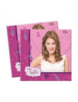 Tovaglioli Violetta da 33 cm (20 pz)
