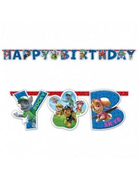 Festone Buon Compleanno Paw Patrol