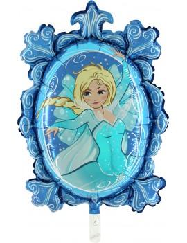 Palloncino Blu Principessa Tiffany