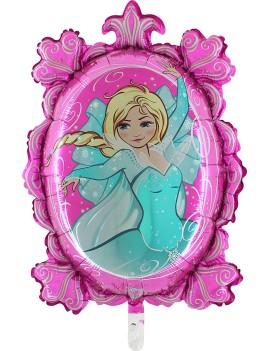 Palloncino Fucsia Principessa Tiffany