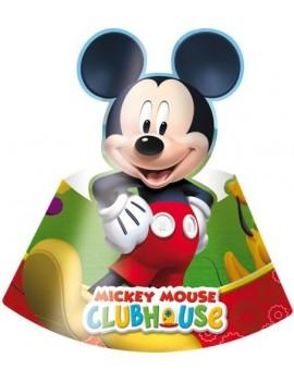 Cappellini di Carta Mickey Mouse (6pz)