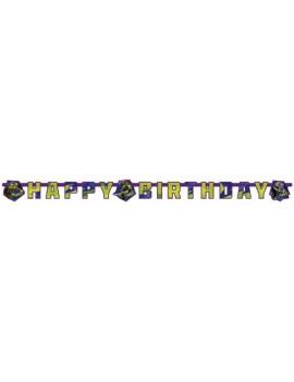 Festone Buon Compleanno Tartarughe Ninja