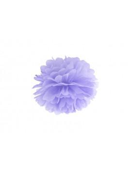 Pom Pom di Carta Lilla Chiaro 25 cm