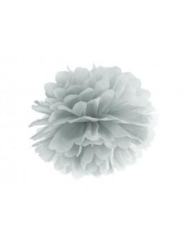 Pom Pom di Carta Argento 35 cm