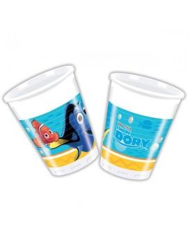 Bicchieri Alla Ricerca di Dory da 200 ml (8 pz)