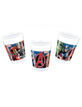 Bicchieri Avengers Power da 200 ml (8 pz)
