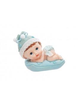Bambino Battesimo per Torta in Ceramica