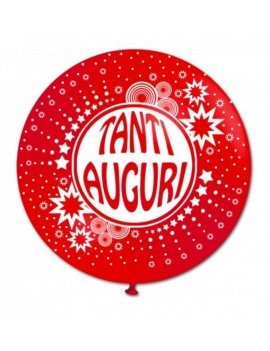 "Palloncino in Lattice 22"" Tanti Auguri"