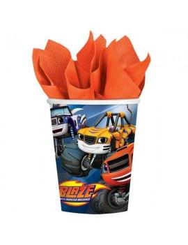 Bicchieri Blaze e le Mega Macchine da 266 ml (8 pz)