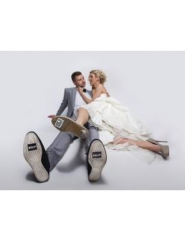 Adesivi Scarpe HELP per Matrimonio