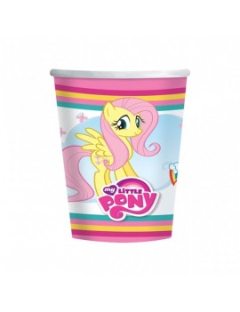 Bicchieri Little Pony da 266 ml (8 pz)
