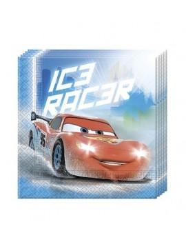 Tovaglioli di Carta Cars Ice (20 pz)