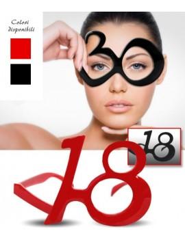 Occhiali Party Numero 18