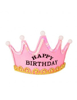 Coroncina Led Happy Birthday