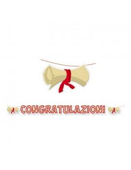 Festone Congratulazioni per Laurea