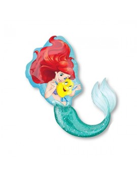 Palloncino Sirenetta Disney Supershape
