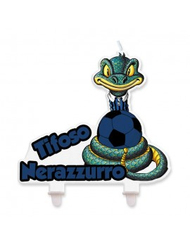 Candela Serpente Tifoso Nerazzurro