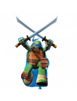 Palloncino Supershape Tartarughe Ninja (Leonardo)