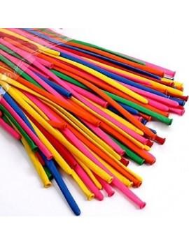 Palloncini in Lattice Modellabili LUX Multicolor (50pz)