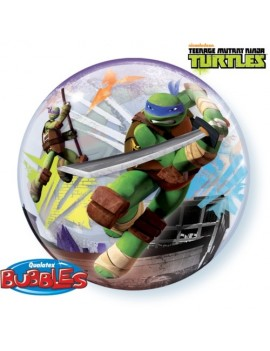 """Palloncino Bubble Tartarughe Ninja da 22"""""""