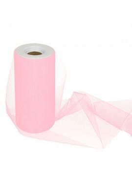 Tulle Colore Rosa 15 cm x 25 m