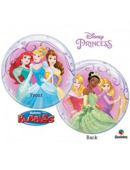 """Palloncino Bubble Principesse Disney da 22"""""""