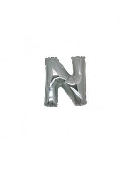 Micro Palloncino Lettera N (17 cm)