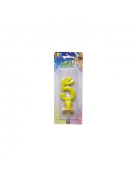 Candelina Gialla Numero 5