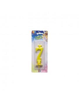 Candelina Gialla Numero 7
