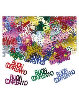 Confetti Multicolor Buon Compleanno