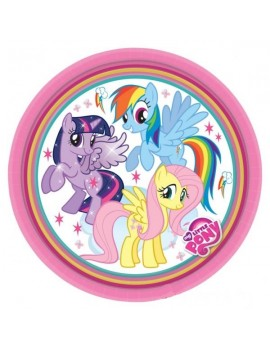 Piattini My Little Pony da 18 cm