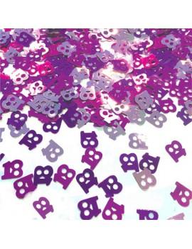 Confetti Decorativi Numero 18 Fucsia