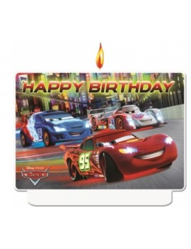 Candela Happy Birthday Cars (1 pz)