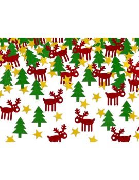 Confetti Decorativi Natalizi Rudolf