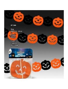 Festone di Carta Zucche Halloween