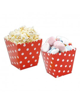 Sweet Box Rossi a Pois (6 pz)