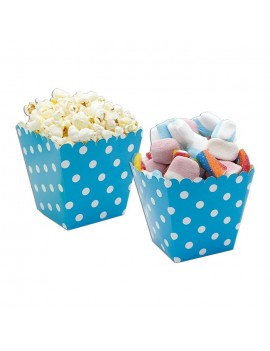 Sweet Box Turchesi a Pois (6 pz)